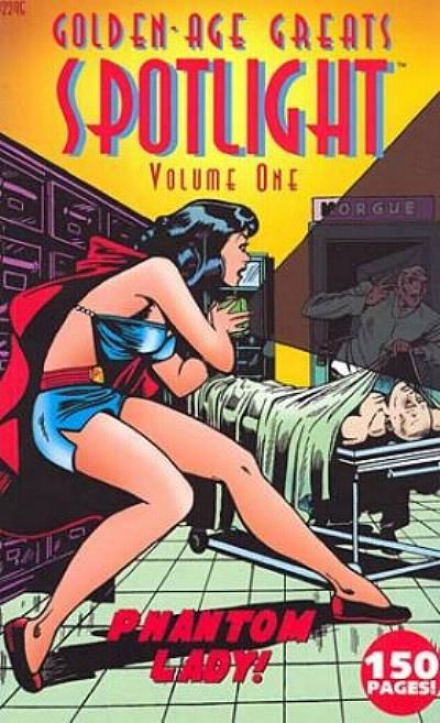 Cover for Golden-Age Greats Spotlight (AC, 2003 series) #1