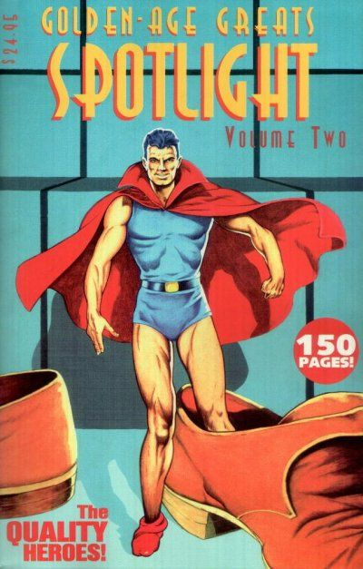 Cover for Golden-Age Greats Spotlight (AC, 2003 series) #2
