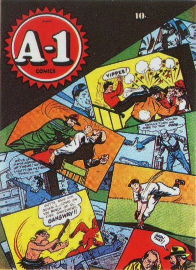 Cover for A-1 (Magazine Enterprises, 1945 series) #[2]