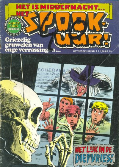 Cover for Het Spookuur Classics (Classics/Williams, 1975 series) #4