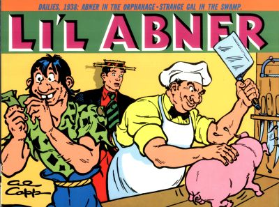 Cover for Li'l Abner Dailies (Kitchen Sink Press, 1988 series) #4