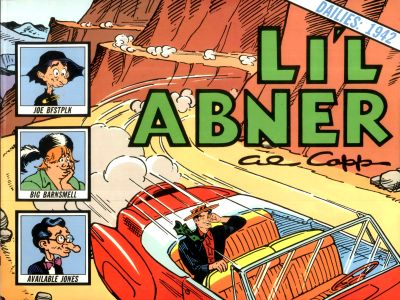 Cover for Li'l Abner Dailies (Kitchen Sink Press, 1988 series) #8