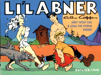 Cover for Li'l Abner Dailies (Kitchen Sink Press, 1988 series) #12