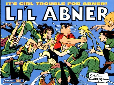 Cover for Li'l Abner Dailies (Kitchen Sink Press, 1988 series) #24