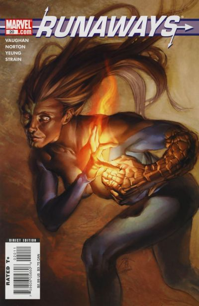 Cover for Runaways (Marvel, 2005 series) #20
