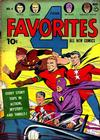 Cover for Four Favorites (Ace Magazines, 1941 series) #4