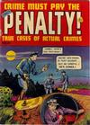 Cover for Crime Must Pay the Penalty (Ace Magazines, 1948 series) #24