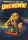 Cover for Adventures into the Unknown (American Comics Group, 1948 series) #2
