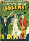 Cover for Adventures into the Unknown (American Comics Group, 1948 series) #27