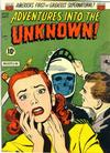 Cover for Adventures into the Unknown (American Comics Group, 1948 series) #35