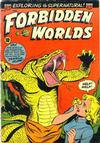 Cover for Forbidden Worlds (American Comics Group, 1951 series) #20