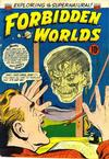 Cover for Forbidden Worlds (American Comics Group, 1951 series) #25