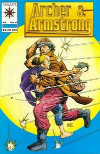 Cover Thumbnail for Archer & Armstrong (Acclaim / Valiant, 1992 series) #0 [Standard Cover]