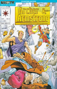 Cover Thumbnail for Archer & Armstrong (Acclaim / Valiant, 1992 series) #2