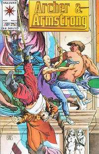 Cover Thumbnail for Archer & Armstrong (Acclaim / Valiant, 1992 series) #4