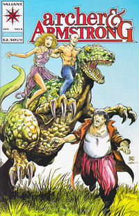 Cover Thumbnail for Archer & Armstrong (Acclaim / Valiant, 1992 series) #6