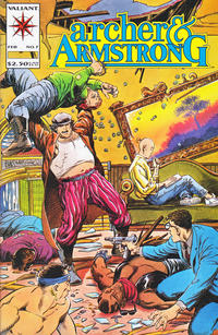 Cover Thumbnail for Archer & Armstrong (Acclaim / Valiant, 1992 series) #7