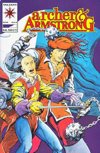 Cover Thumbnail for Archer & Armstrong (Acclaim / Valiant, 1992 series) #8