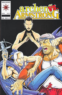 Cover Thumbnail for Archer & Armstrong (Acclaim / Valiant, 1992 series) #9