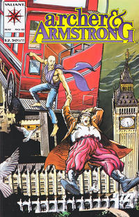 Cover Thumbnail for Archer & Armstrong (Acclaim / Valiant, 1992 series) #10