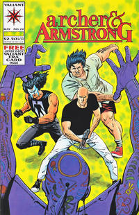 Cover Thumbnail for Archer & Armstrong (Acclaim / Valiant, 1992 series) #22