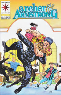 Cover Thumbnail for Archer & Armstrong (Acclaim / Valiant, 1992 series) #24