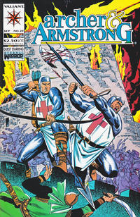 Cover Thumbnail for Archer & Armstrong (Acclaim / Valiant, 1992 series) #25