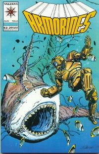 Cover Thumbnail for Armorines (Acclaim / Valiant, 1994 series) #2