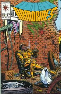 Cover Thumbnail for Armorines (Acclaim / Valiant, 1994 series) #4