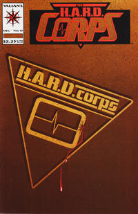 Cover Thumbnail for The H.A.R.D. Corps (Acclaim / Valiant, 1992 series) #13