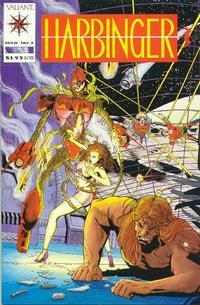 Cover Thumbnail for Harbinger (Acclaim / Valiant, 1992 series) #3