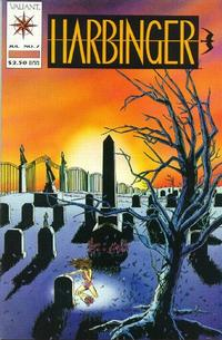 Cover Thumbnail for Harbinger (Acclaim / Valiant, 1992 series) #7