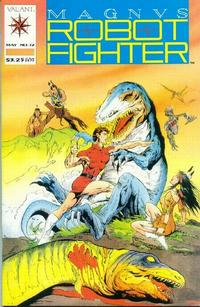 Cover Thumbnail for Magnus Robot Fighter (Acclaim / Valiant, 1991 series) #12