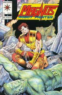 Cover Thumbnail for Magnus Robot Fighter (Acclaim / Valiant, 1991 series) #26