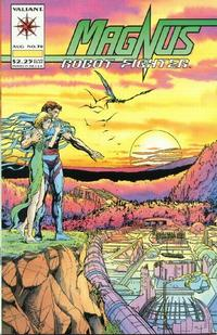 Cover Thumbnail for Magnus Robot Fighter (Acclaim / Valiant, 1991 series) #38