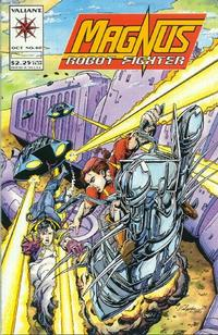 Cover Thumbnail for Magnus Robot Fighter (Acclaim / Valiant, 1991 series) #40