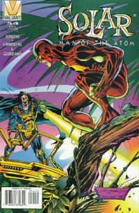 Cover Thumbnail for Solar, Man of the Atom (Acclaim / Valiant, 1991 series) #54
