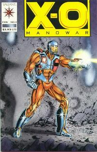 Cover Thumbnail for X-O Manowar (Acclaim / Valiant, 1992 series) #1