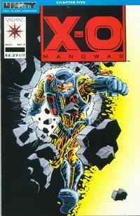 Cover Thumbnail for X-O Manowar (Acclaim / Valiant, 1992 series) #7