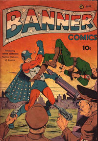Cover for Banner Comics (Ace Magazines, 1941 series) #3