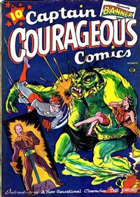 Cover Thumbnail for Captain Courageous Comics (Ace Magazines, 1942 series) #6