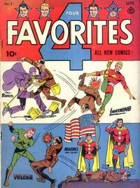 Cover Thumbnail for Four Favorites (Ace Magazines, 1941 series) #1