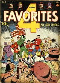 Cover Thumbnail for Four Favorites (Ace Magazines, 1941 series) #2