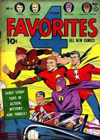 Cover Thumbnail for Four Favorites (Ace Magazines, 1941 series) #4