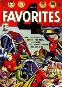 Cover Thumbnail for Four Favorites (Ace Magazines, 1941 series) #6