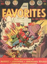 Cover Thumbnail for Four Favorites (Ace Magazines, 1941 series) #7