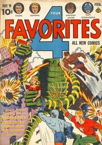 Cover Thumbnail for Four Favorites (Ace Magazines, 1941 series) #9