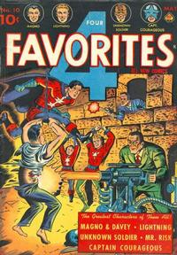 Cover for Four Favorites (Ace Magazines, 1941 series) #10