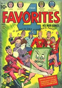 Cover Thumbnail for Four Favorites (Ace Magazines, 1941 series) #11