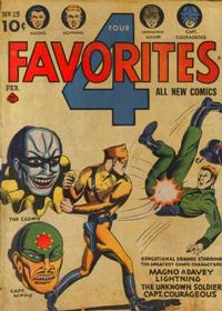 Cover Thumbnail for Four Favorites (Ace Magazines, 1941 series) #13